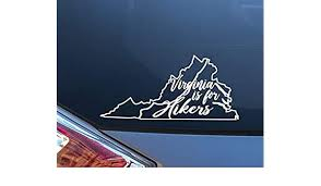 Celycasy Virginia Is For Hikers Car Decal Vinyl Sticker Appalachian Trail Hiking Vinyl Decal Sticker Itrainkids Com