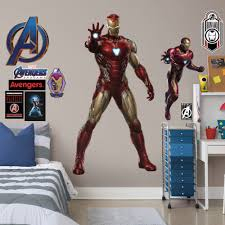 Fathead Avengers Endgame Iron Man Life Size Officially Licensed Marvel Removable Wall Decal Walmart Com Walmart Com