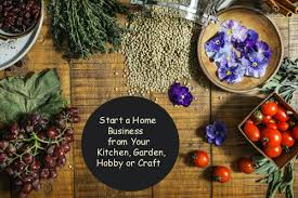 start a home business from your kitchen
