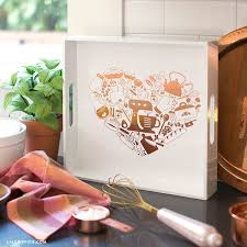 Serve Up Some Love With This Adorable Vinyl Decal Tray