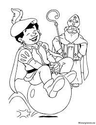 Sinterklaas En Zwarte Piet Kleurplaat 937990 Kleurplaat