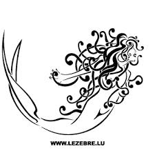 Super Mermaid Sticker
