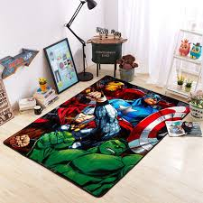 Gift Set Marvel Avengers Captain America Kids Fun Bedroom Set Poster Cushion Rug Toys Games Toys Games Tv Movie Character Toys