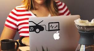 Laptop Decals Sticker Mule