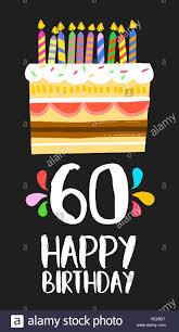 Feliz Cumpleanos Numero 60 Tarjeta De Felicitacion Para 60 Anos
