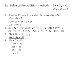 5 3 solving systems of linear equations