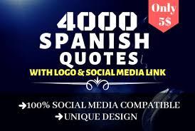 design spanish motivational quotes logo by subho