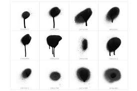spot blob spray photo st brushes
