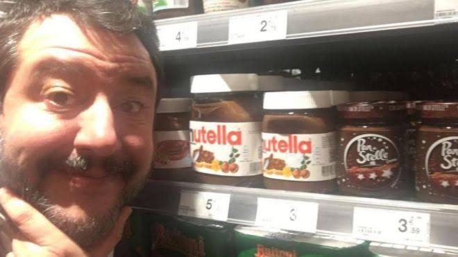 """nutella salvini ile ilgili görsel sonucu"""""""