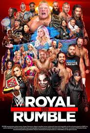 WWE Royal Rumble 2020 Poster by Chirantha on @DeviantArt nel 2020
