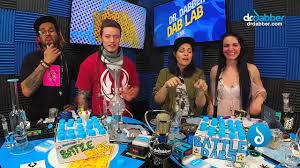 Ganja Games - Battle Dabs with Comedian Addie Martin - YouTube