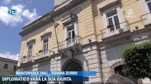 VIDEO - Boscoreale. Napoli. Il sindaco Diplomatico presenta la giunta