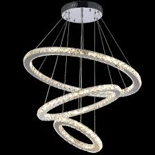 dimmable led crystal pendant lamp diy