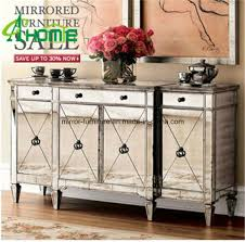 antique mirror large buffet furniture