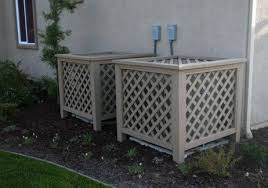 Make Your Air Conditioner Fit Drummond House Plans Blog Backyard Landscaping Garden Workshops Backyard