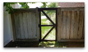 Simple Fence Gate Hardware Cloth Shou Sugi Ban Buildsomething Com