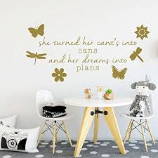 Amazon Com Butterflies Dragonflies And Flowers Vinyl Wall Decal Add On To Quote Handmade