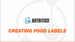 creating food and nutrition labels
