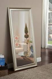 mirror large full length leaning wall