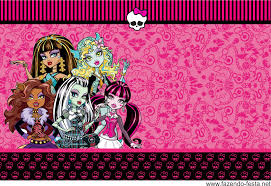 Monster High In Pink Free Printable Kit Festa Monster High