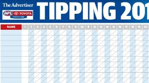 2019 AFL tipping chart download: PDF ...