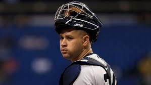 New York Yankeess catcher Gary Sanchez has sore back, slowed for ...