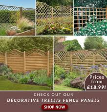 Fencestore Shop Our Fantastic Range Of Decorative Trellis Fence Panels Milled