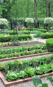 formal vegetable garden layout