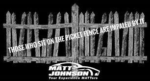 matt johnson on where do you fall this quote do