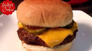 air fryer hamburger cheeseburger