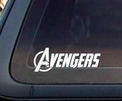 Avengers Avenger Marvel Car Decal Sticker 6 5 602 1 Ebay