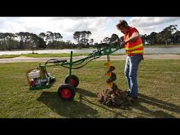 Hire Post Hole Digger 9hp Youtube