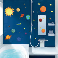 Solar System Planets Moon Wall Stickers Kids Gift Bedroom Decorative Decorations Cartoon Mural Art Pvc Nursery Room Boys Posters Buy At The Price Of 2 80 In Aliexpress Com Imall Com