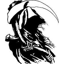 Amazon Com Bd Usa Detailed Grim Reaper Decal Decal Sticker Vinyl Car Home Truck Window Laptop Automotive