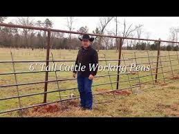 Installing Continuous Fence One Person 2019 Youtube