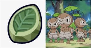 Pokémon: Every Pokémon That Evolves With A Leaf Stone