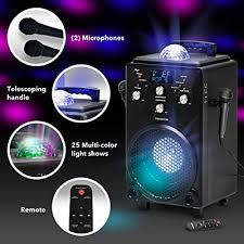 Professional Karaoke Machine For Adults And Kids Singsation Bravo All In One Portable Karaoke System Voice Sound Light Effects 2 Karaoke Mics Room Filling Light Show Works Wbluetooth Buy Products