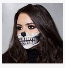 halloween makeup easy scary hd png