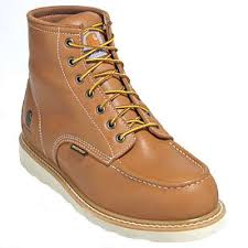 oil tanned leather wedge boots