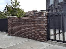 Brick Fences By Melbourne Gates And Fencing
