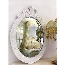 oval vintage decorative wall mirror
