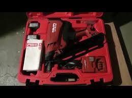 hilti gx 90 wf framing nail gun review