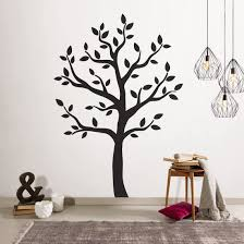 Amazon Com Timber Artbox Large Black Tree Wall Decal The Easy To Apply Yet Amazing Decoration For Your Home Health Personal Care