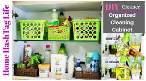 diy cleaners kitchen cleaning cabinet