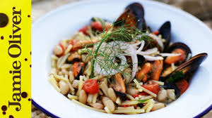 Seafood Pasta with Cannellini Beans ...