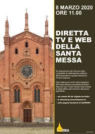 La Santa Messa di domenica 8 marzo su Telepavia – Diocesi di Pavia
