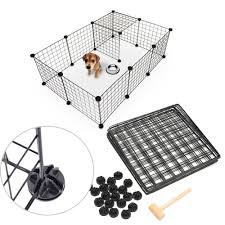 Durable Multi Function Easy Install Storage Tool Kennel Pet Playpen Fence Dog Cage Enclosure Yard Lazada Ph