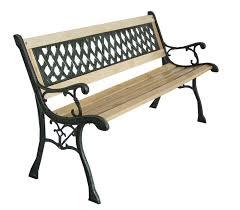 3 seater cross lattice garden bench