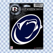 Penn State Nittany Lions Car Window Decals Stickers