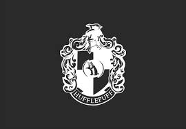 Hufflepuff House Crest Decal Azvinylworks